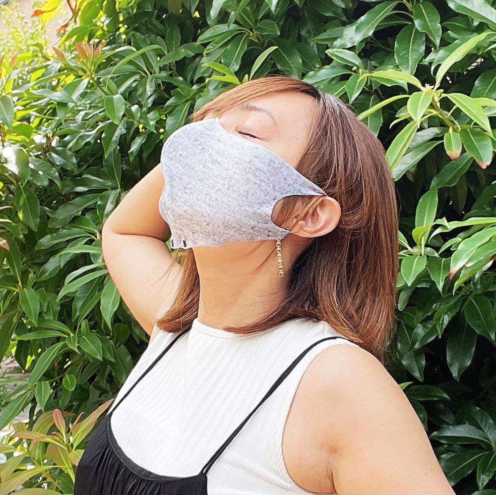 通気性8.5倍で息苦しくないマスク